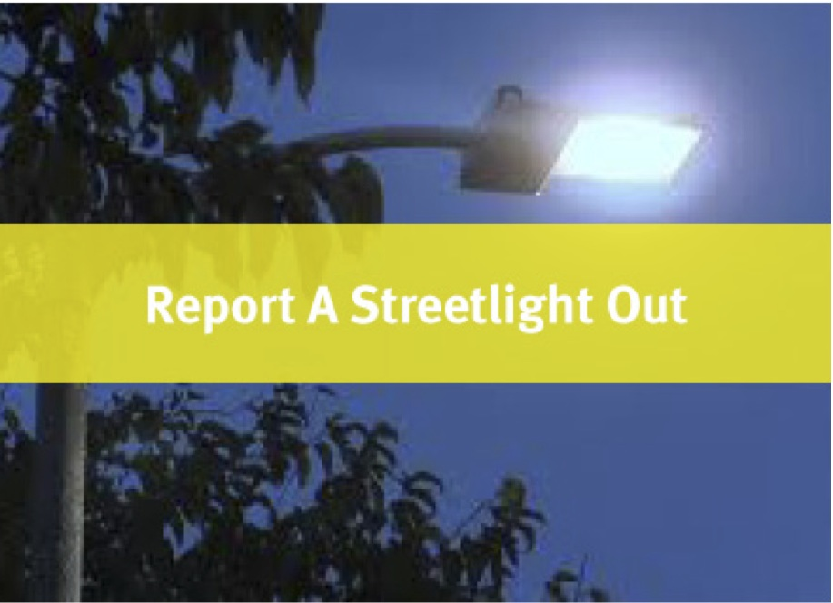 Street Light Out