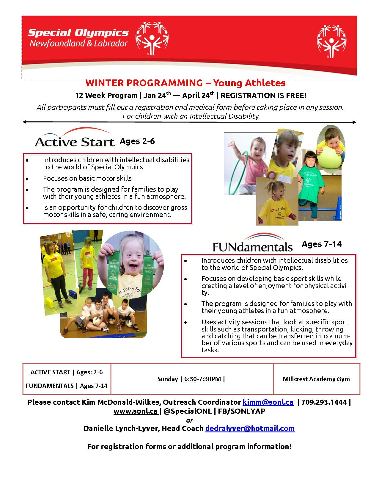 Winter Programming 2015 Flyer